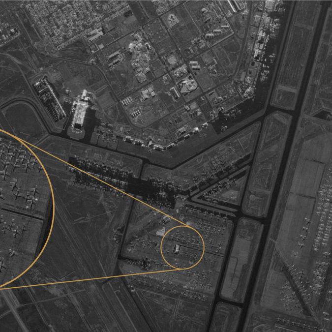 قمر صناعي متطور يتغلغل داخل الجدران ويصور محتوى البنايات