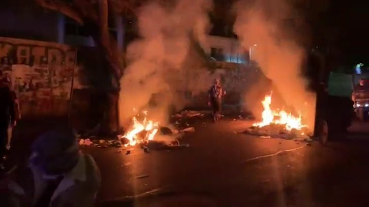 Lebanon police clash with AUB students protesting tuition hikes