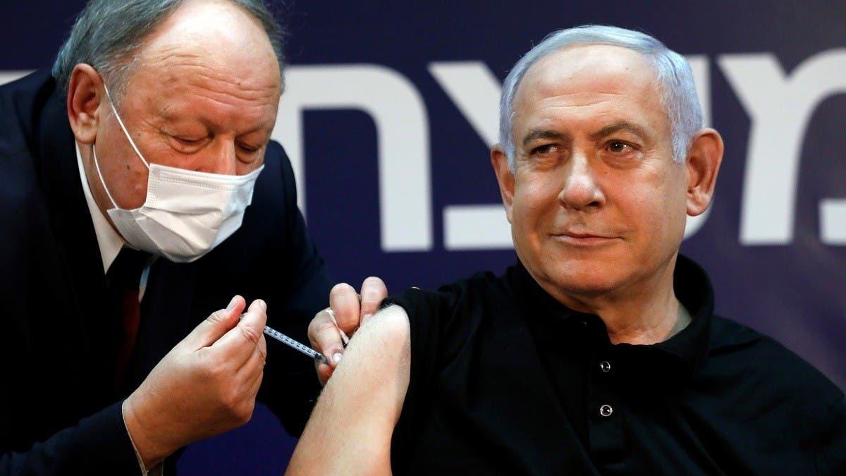 Netanyahu gets coronavirus jab, starting Israel rollout thumbnail