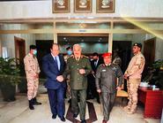 ليبيا.. حفتر يستقبل رئيس المخابرات العامة المصرية بمقر القيادة العامة