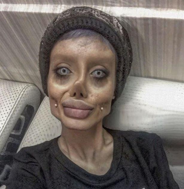 زومبي أنجلينا جولي