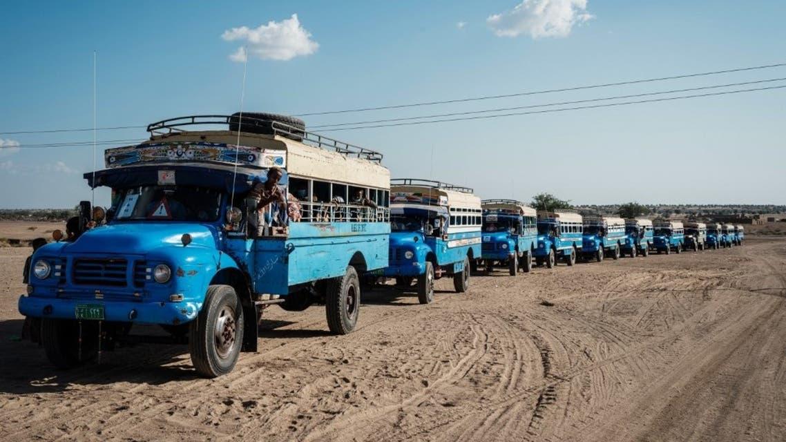 من الحدود السودانية الإثيوبية - فرانس برس