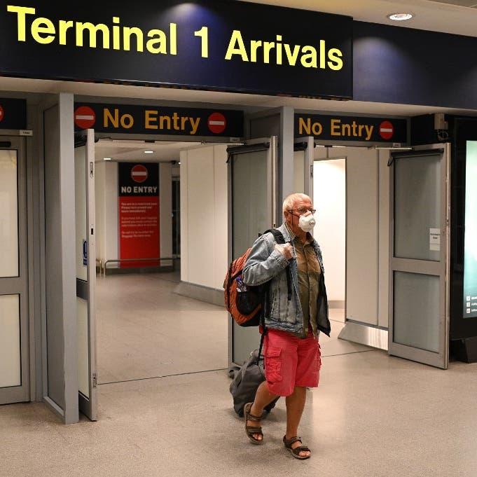 أميركا لن تطلب فحص كورونا للمسافرين من بريطانيا