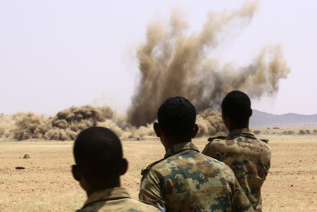 عناصر من الجيش السوداني - أرشيفية