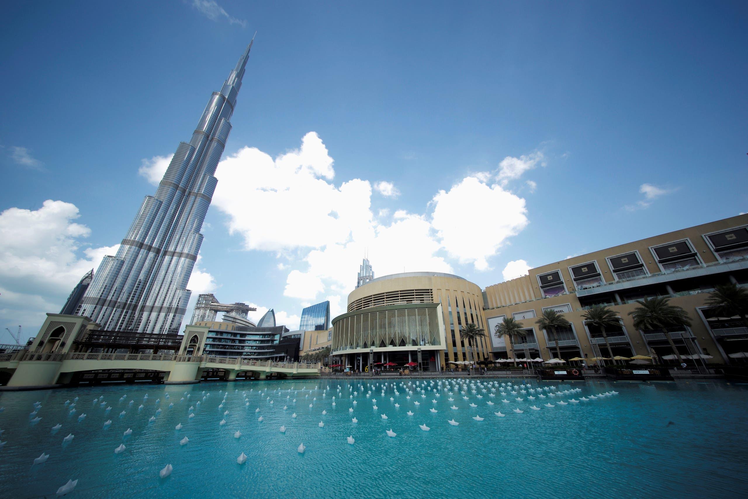 General view of the world's tallest building Burj Khalifa and Dubai Mall in Dubai, United Arab Emirates, November 21, 2018. (Reuters)