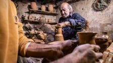 Syrian potter near the city of Qamishli preserves centuries-old craft