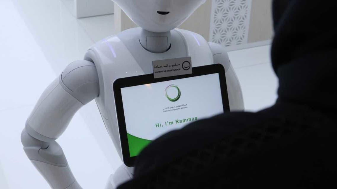 DEWA's AI employee, Rammas. (WAM News Agency)