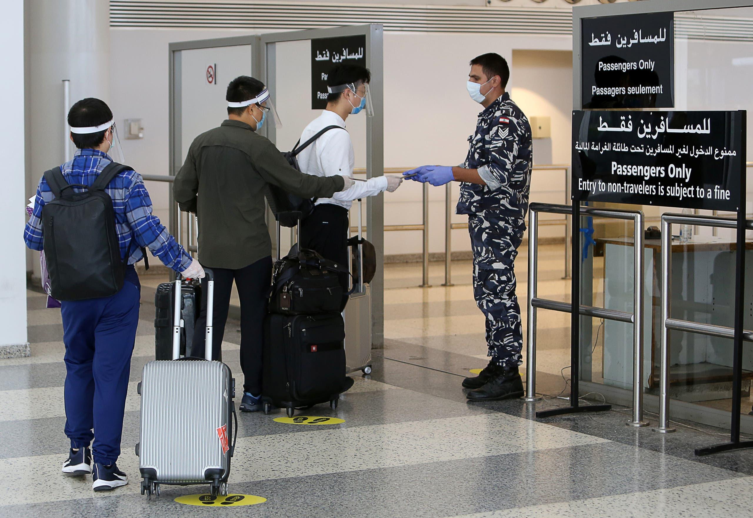 من مطار بيروت (أرشيفية- رويترز)