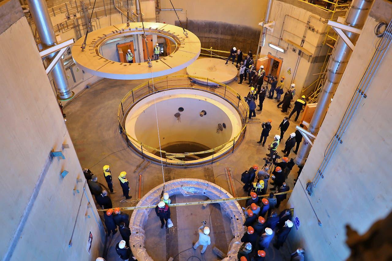 راکتور هسته ای اراک ایران (بایگانی - فرانس پرس)