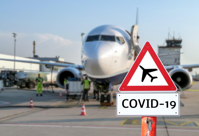 طيران سفر - كورونا
