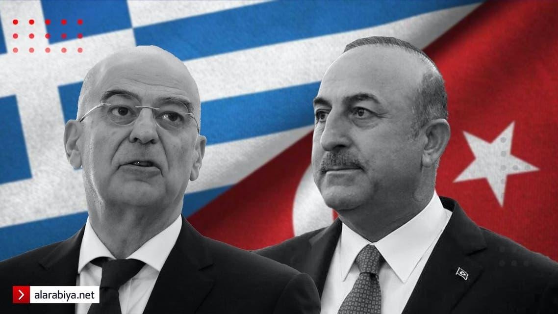 وزيرا خارجية الينان وتركيا