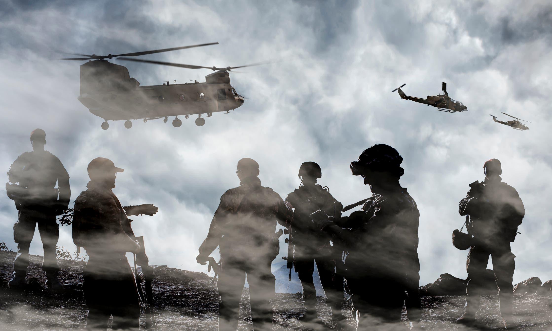 قوات أميركية تعبيرية (أيستوك)