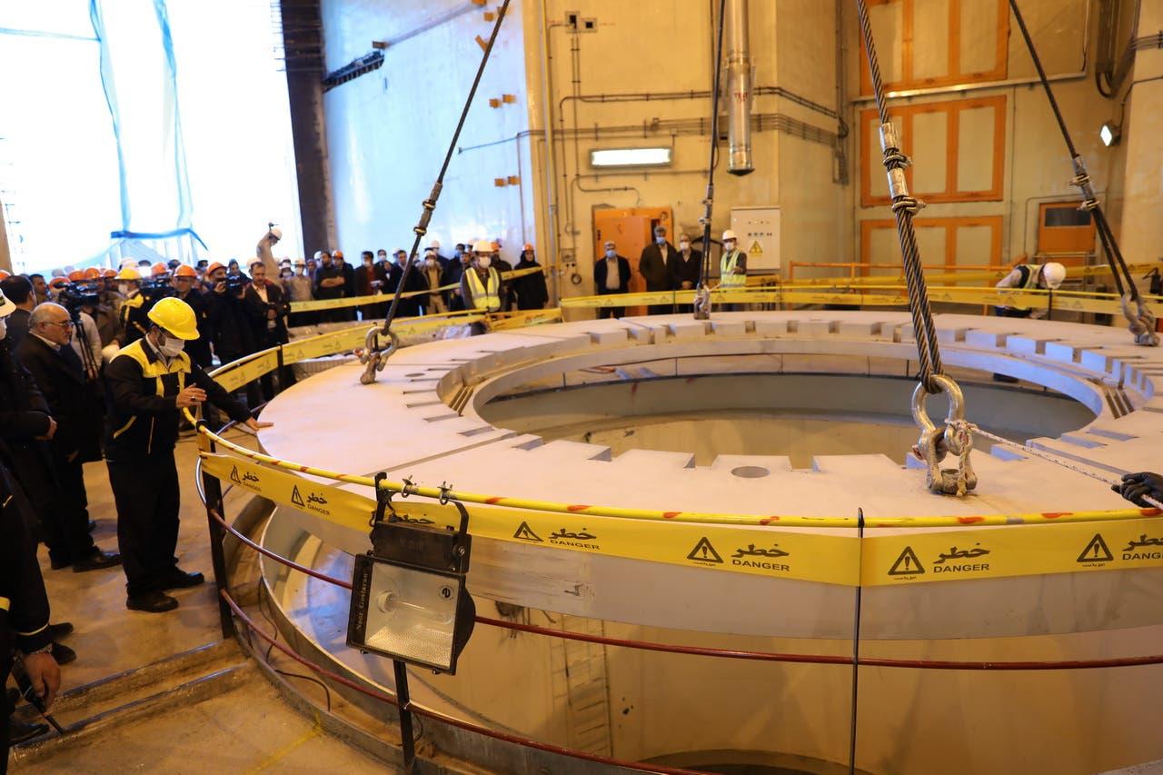 مفاعل آراك النووي الإيراني (أرشيفية- فرانس برس)