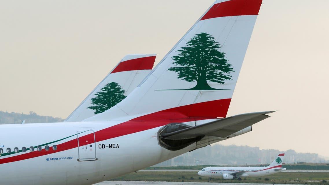 طيران الشرق الأوسط لبنان (رويترز)