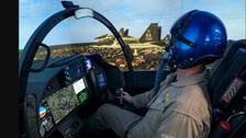 """جهاز محاكاة """"مفرط في الواقعية"""" لتدريب طياري القوات الأميركية"""