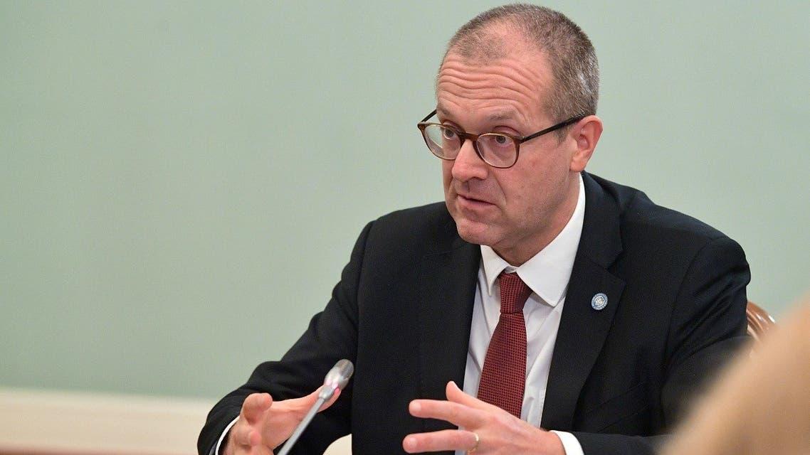Hans Kluge, World Health Organization regional director for Europe. (Reuters)