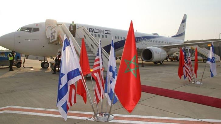 Historic Israel flight arrives in Morocco amid normalization talks: US embassy