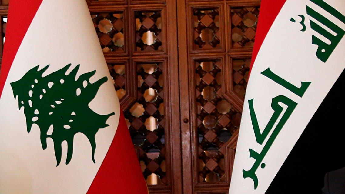 Lebanon and Iraq flags. (File photo: AP)