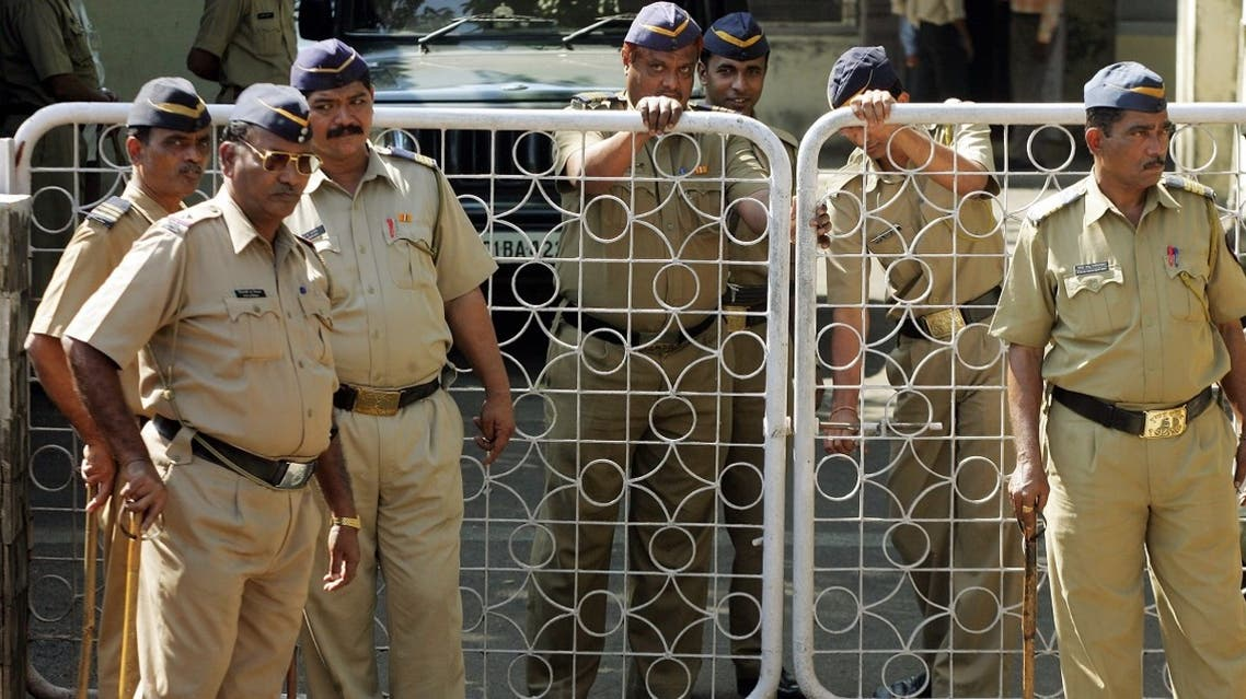 File photo of Indian policemen stand guard at the Central Investigation Bureau (CBI) office. (Reuters)