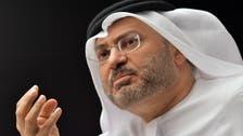 UAE's Gargash: Qatar's media is undermining Gulf crisis progress