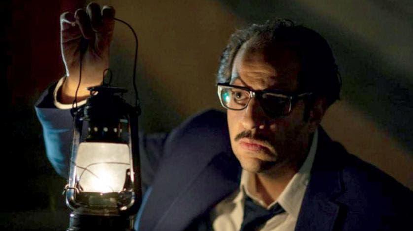 أحمد أمين في مشهد من المسلسل