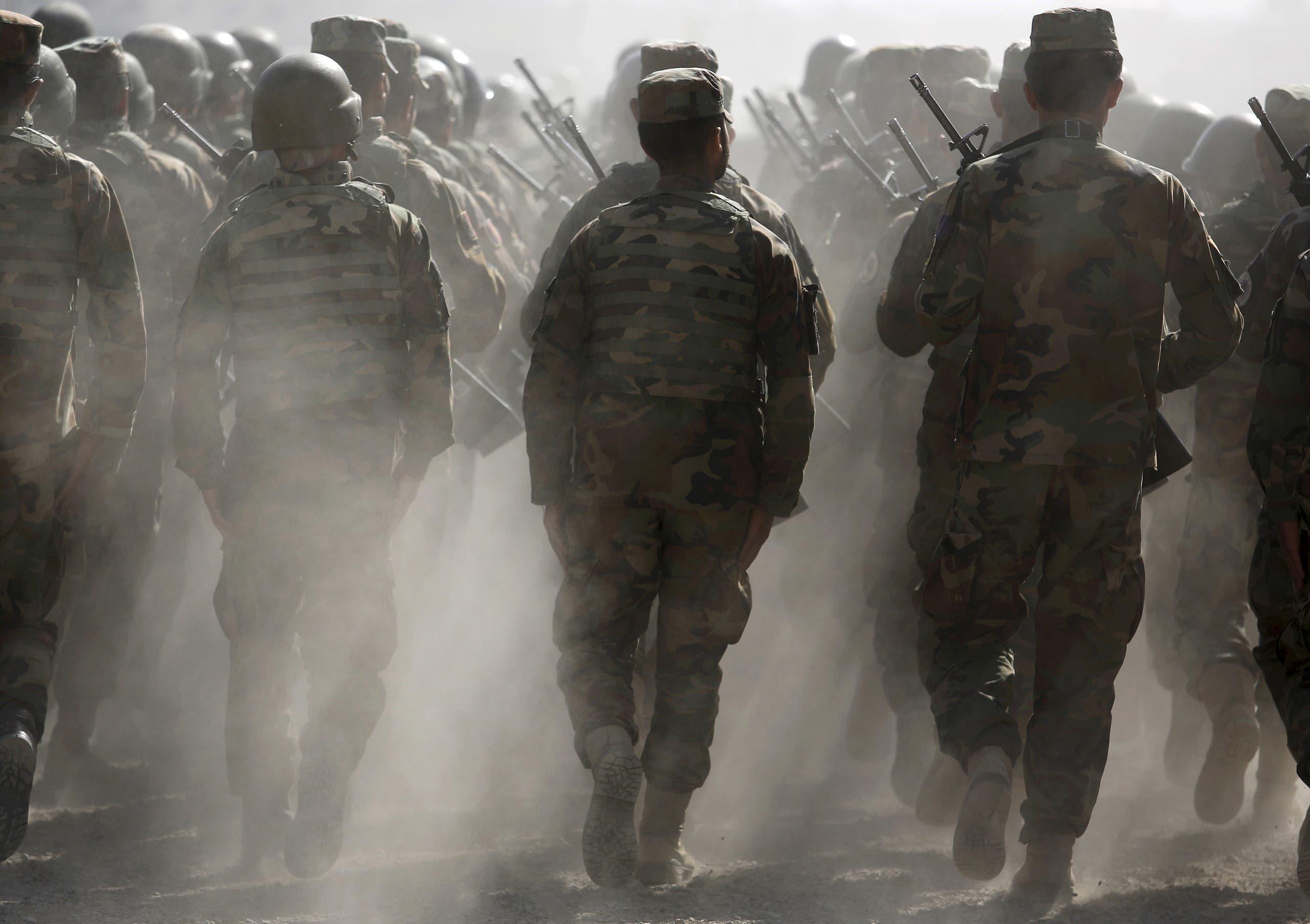 نیروهای امنیتی افغانستان (بایگانی)