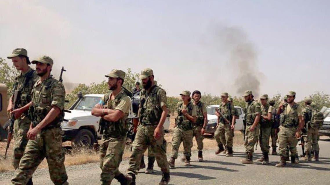 Turk army in Libya