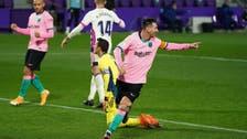 ميسي يحطم رقم بيليه ويقود برشلونة للفوز على بلد الوليد