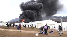 Police blame residents for fire at migrant center in northwestern Bosnia