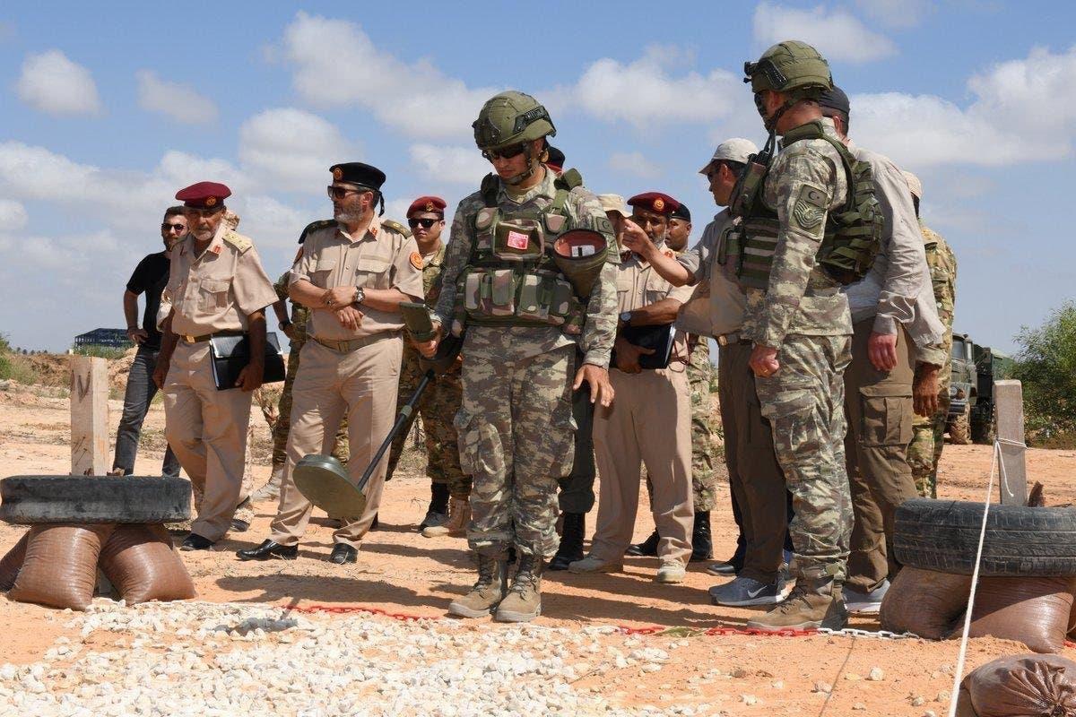 جنود أتراك في ليبيا