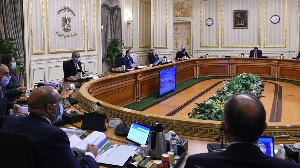 اجتماع مجلس الوزراء المصري برئاسة مصطفى مدبولي 24 ديسمبر2020