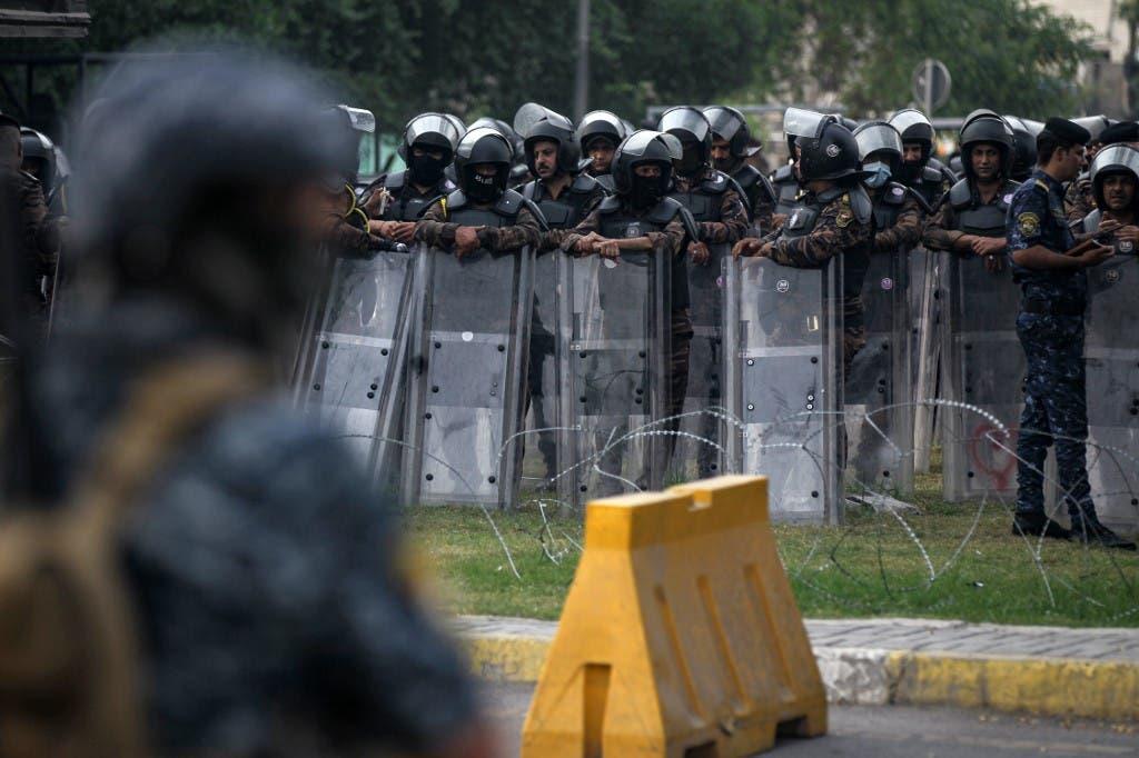 نزدیک منطقه سبز در بغداد - خبرگزاری فرانسه