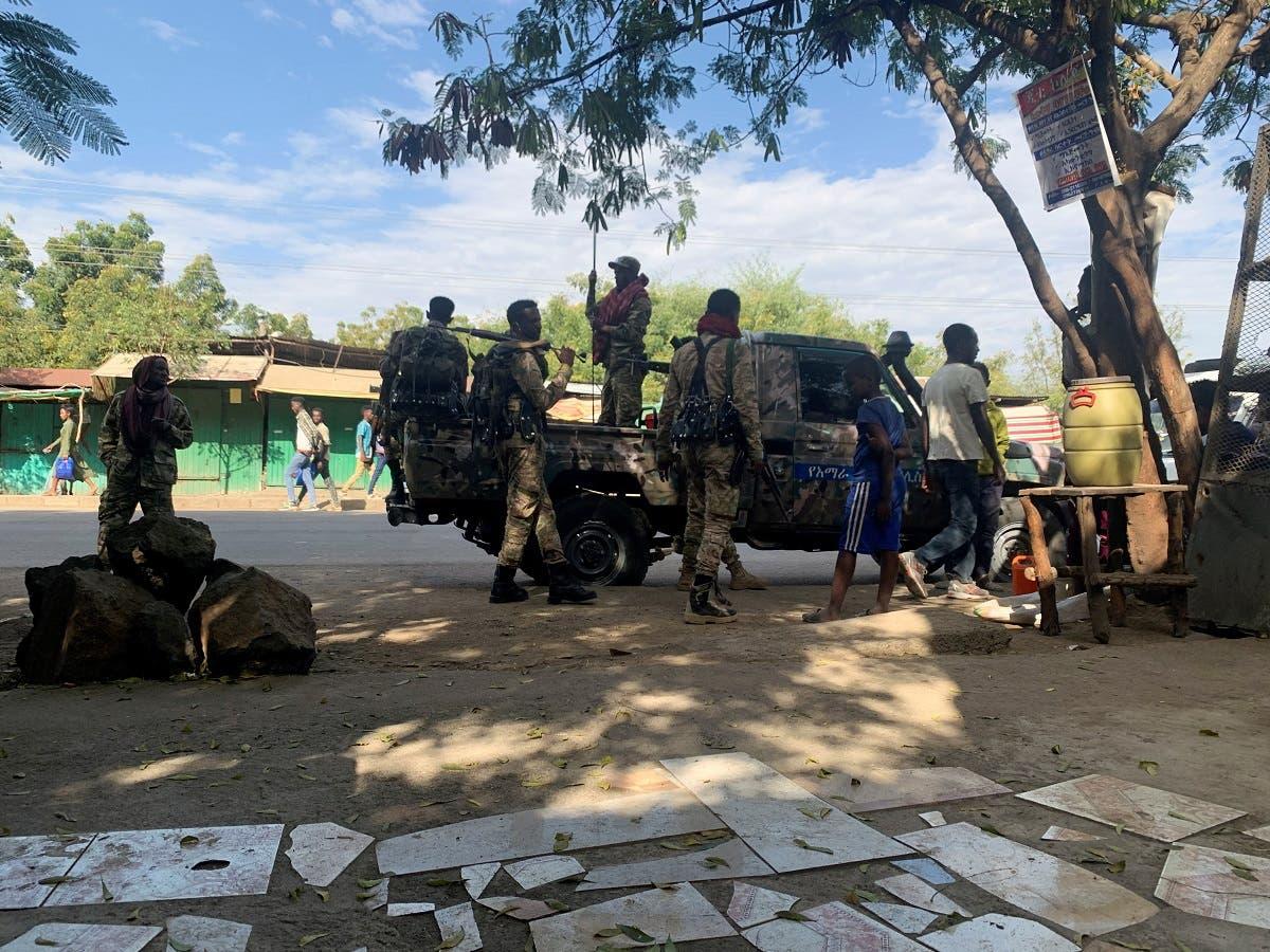 قوات إثيوبية (رويترز)