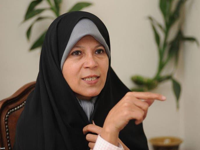 فائزه هاشمی: مقامات ایرانی در خاموش کردن مطالبات مردم از هم سبقت میگیرند