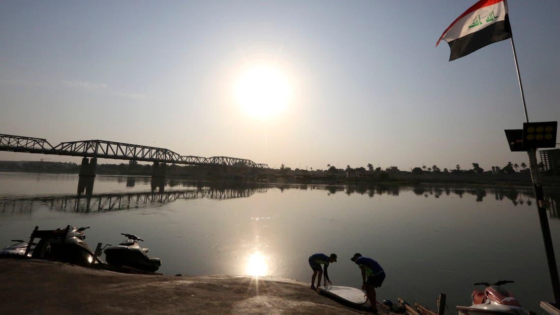 من نهر دجلة العراقي (أرشيفية- فرانس برس)