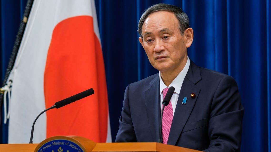 Prime Minister Yoshihide Suga has pledged to eliminate carbon emissions on a net basis by mid-century. (Reuters)