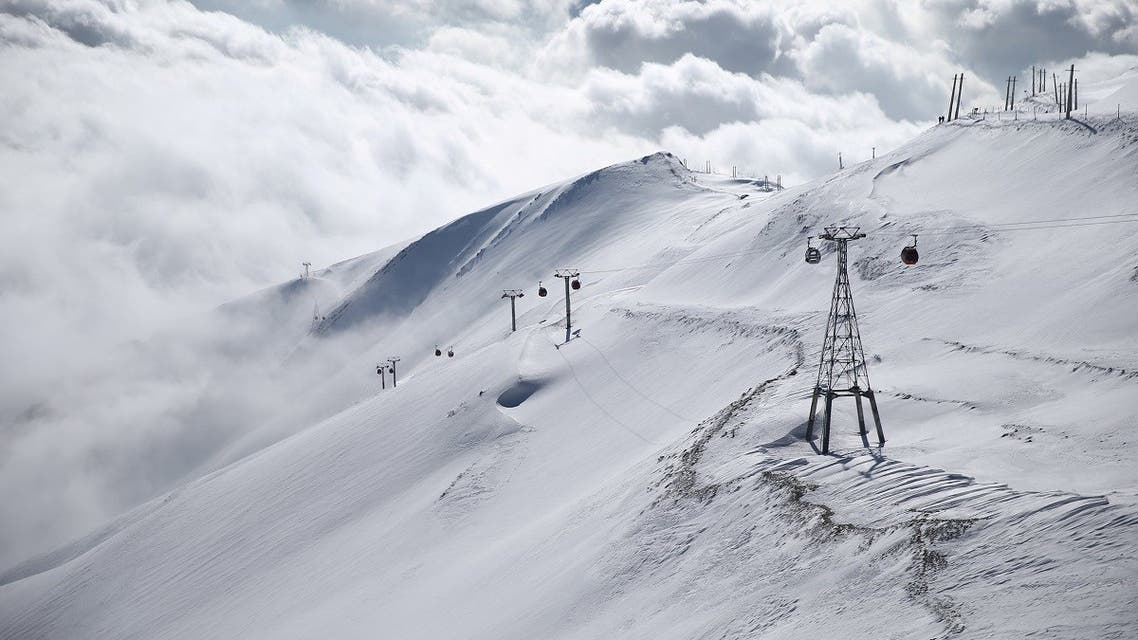 A general view shows the Tochal ski resort, in north of Tehran, Iran. (File photo: Reuters)