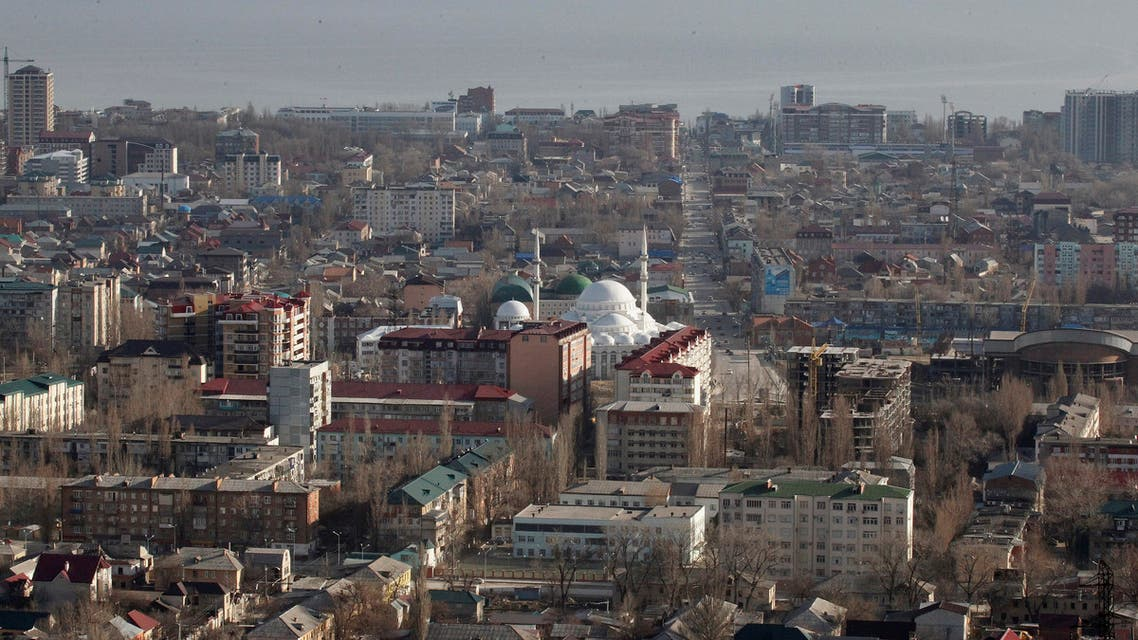 An aerial view of the Dagestan capital of Makhachkala March 24, 2012. (Reuters)