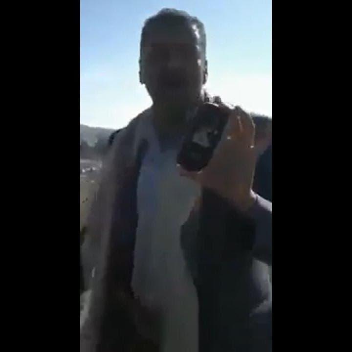 """يمنيات ينتفضن في وجه قيادي حوثي: """"أنتم ظلمة"""""""