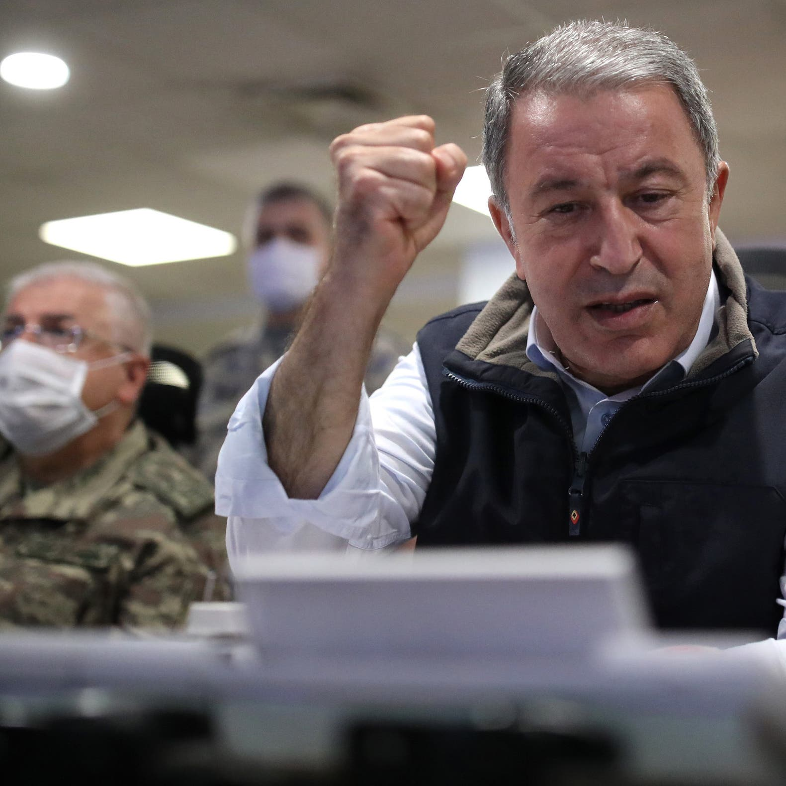 وزير دفاع تركيا من طرابلس: سنصد أي تحرك للجيش الليبي