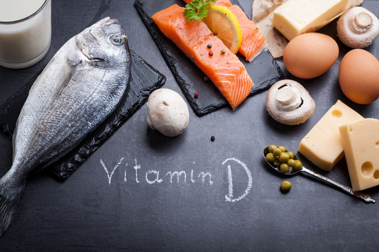 السمك من أبرز مصادر فيتامين د