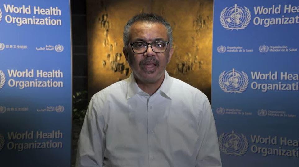 رئیس سازمان بهداشت جهانی ، تدروس آدونام گبریزوس