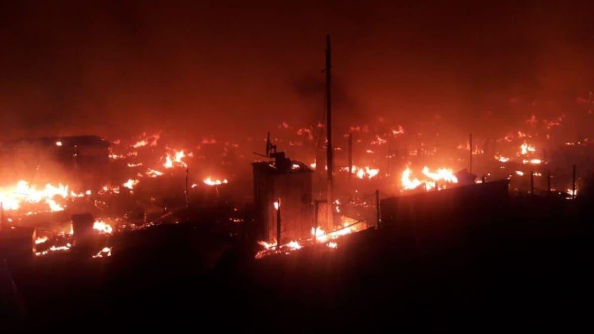 Syrian refugee camp in Northern Lebanon set on fire following fight with local family thumbnail