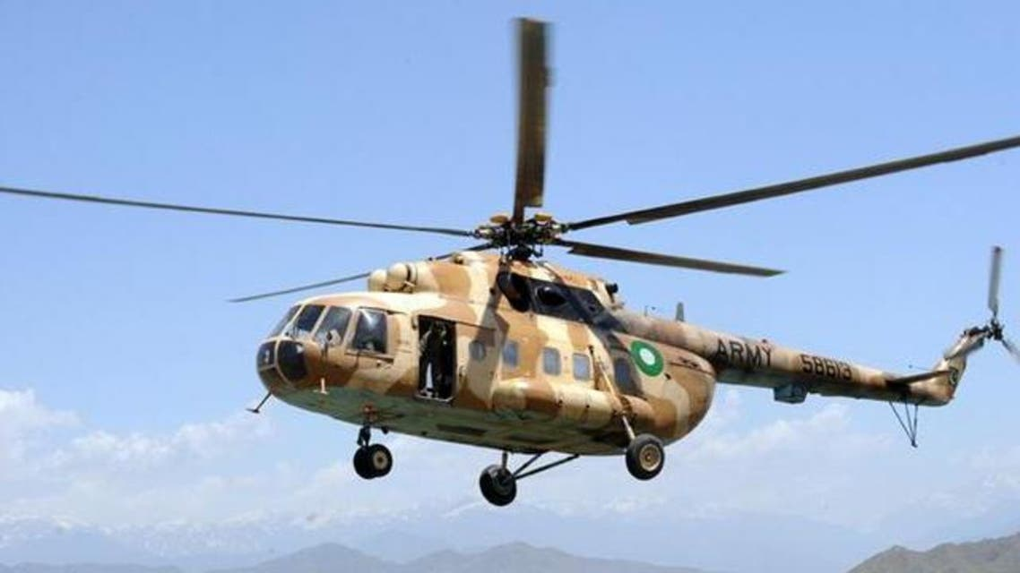 Pakistan Army Hellicopter