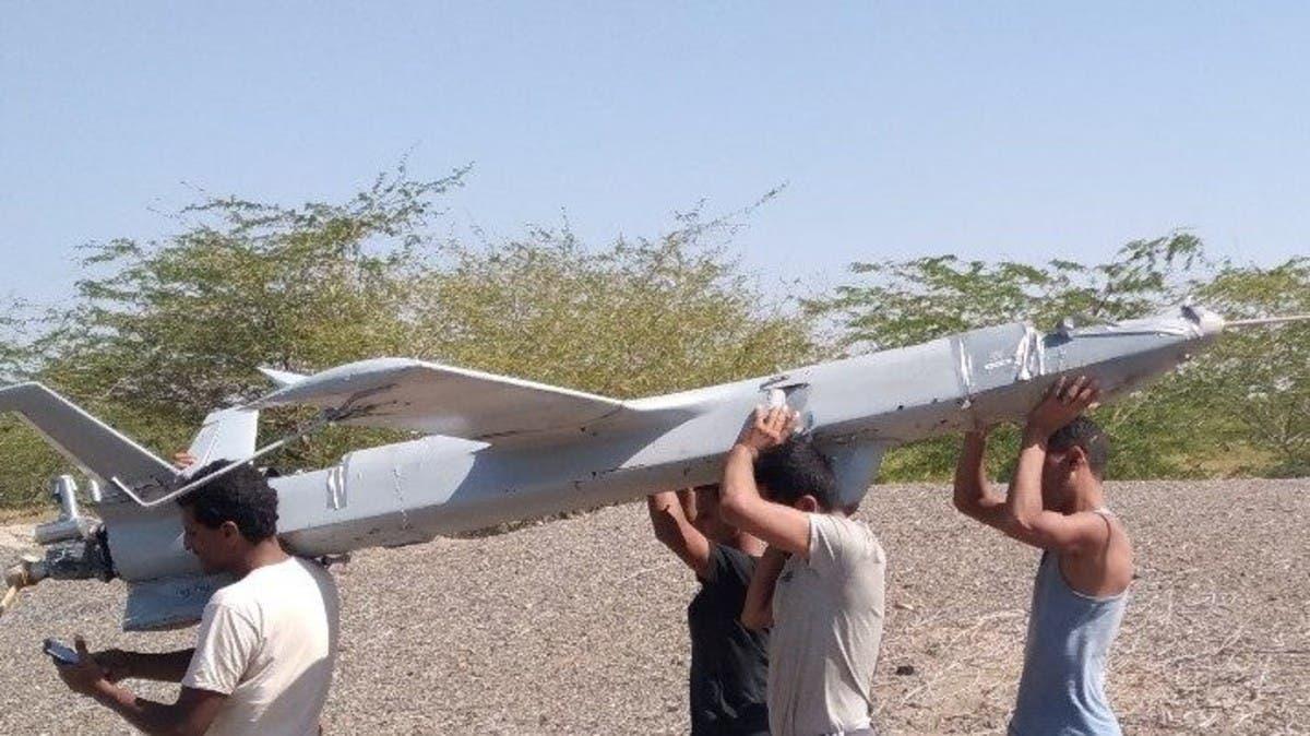 دفاعات التحالف تسقط طائرة حوثية مسيرة غرب اليمن