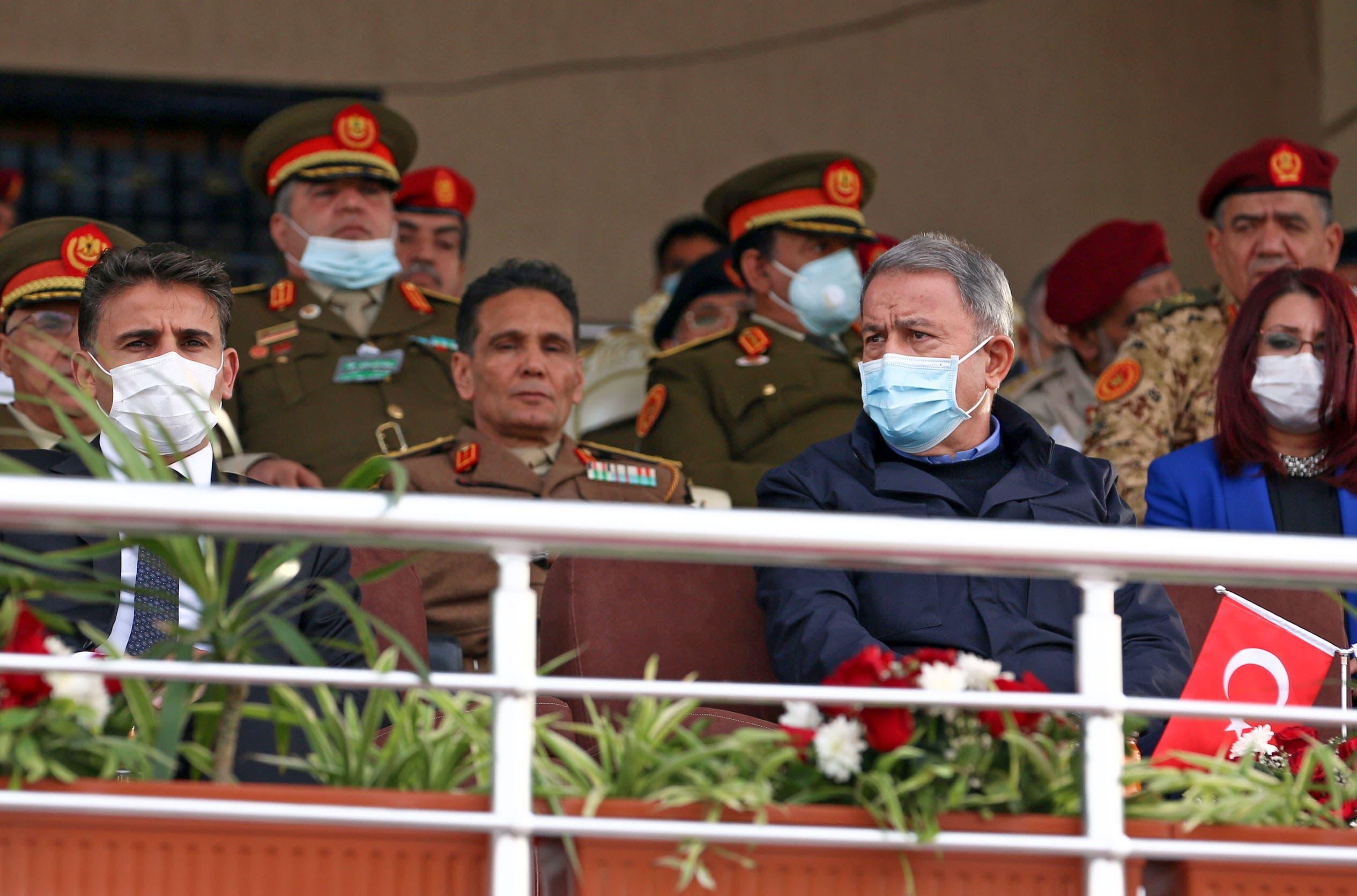 خلوصي أكار يحضر تخريج دفعة من قوات حكومة الوفاق في ليبيا