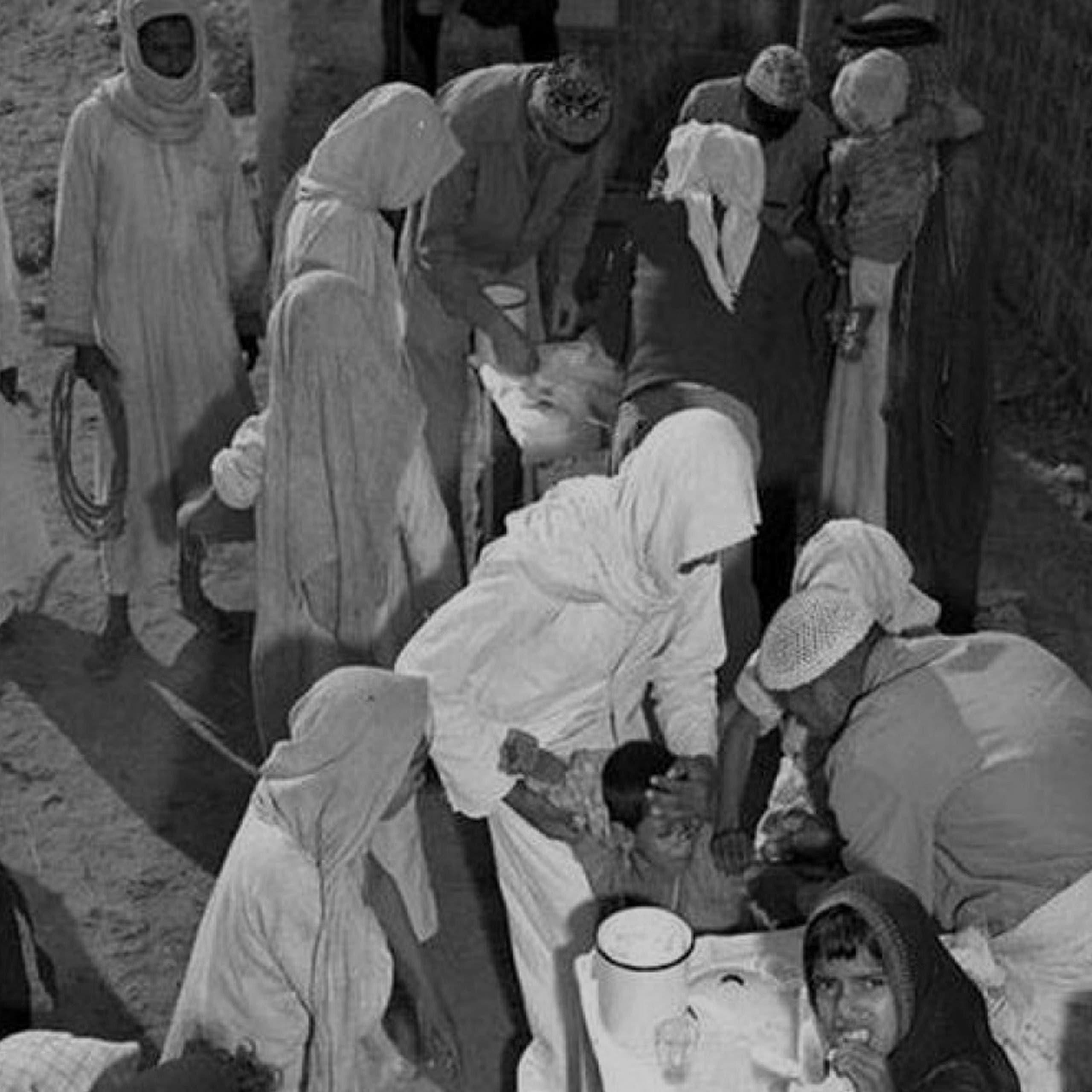 صورة ارشيفية للتطيعم قديما في السعودية