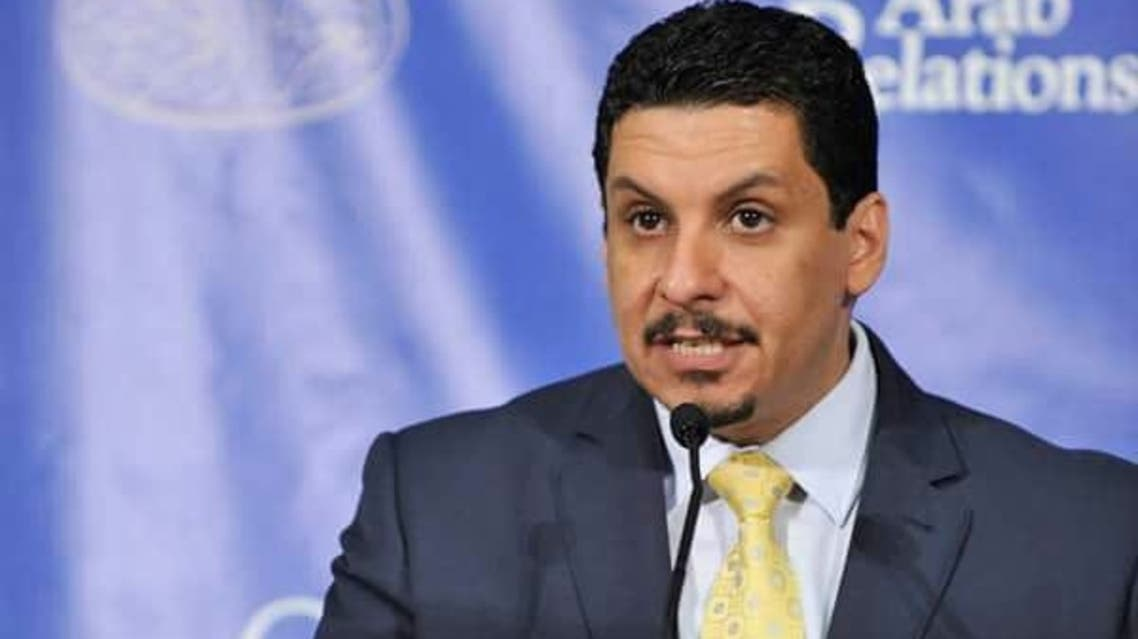 وزير الخارجية وشؤون المغتربين اليمني، أحمد بن مبارك