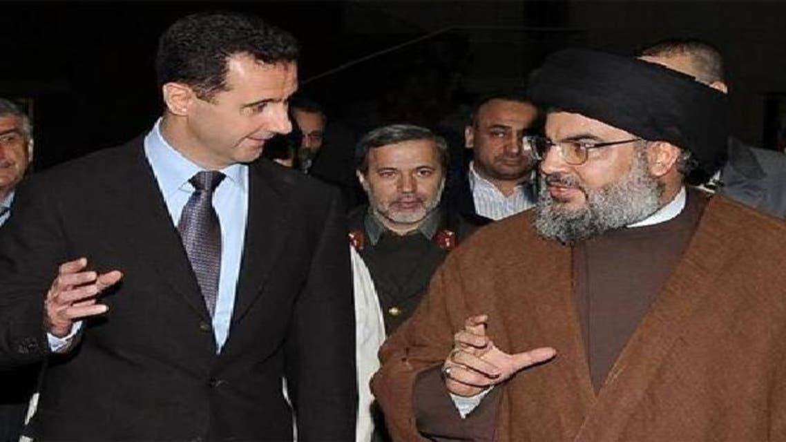 Hasan Nasrullah ans Bashar ul Asad