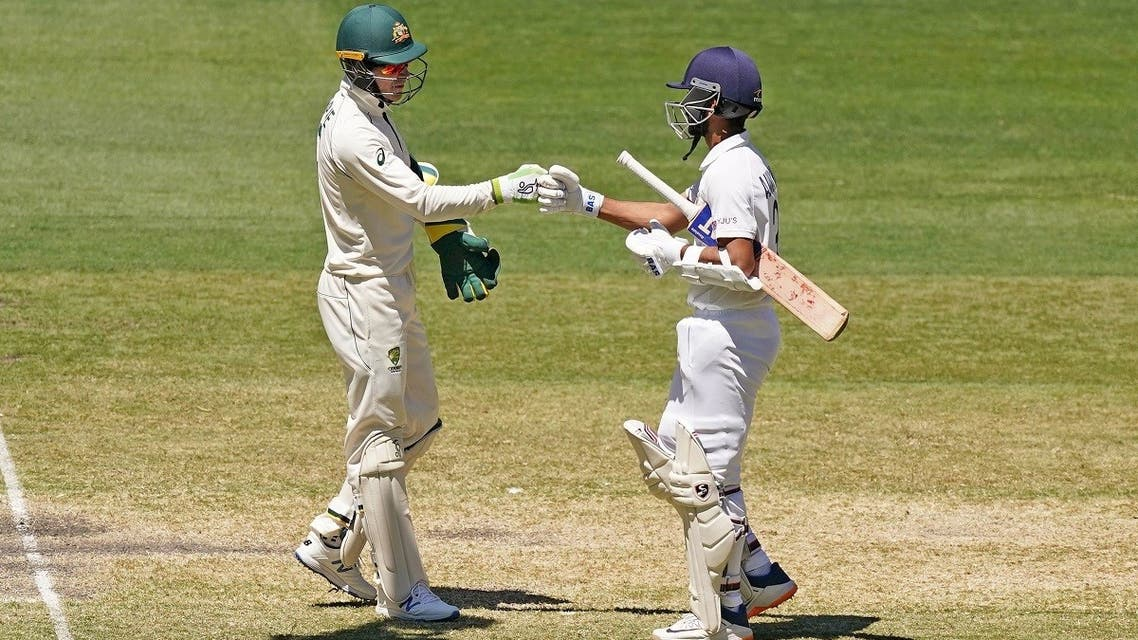 Tim Paine of Australia congratulates India's Ajinkya Rahane after India won the match during day four of the second test match between Australia and India at The MCG, Melbourne, Australia, on December 29, 2020. (Reuters)